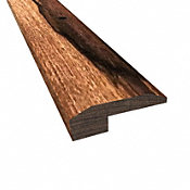 Prefinished Truffle Brazilian Pecan Hardwood 5/8 in thick x 2 in wide x 78 in Length Threshold
