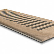 "CLX Natural Maple 4x10"" DI Grill"