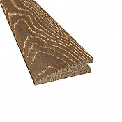 Prefinished Distressed Hillside Cove Oak Hardwood 5/8 in thick x 2.25 in wide x 78 in Length Reducer