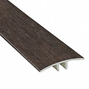 Summer Dusk Cedar Laminate Waterproof 1.75 in wide x 7.5 ft Length Low Profile T-Molding