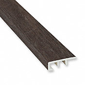 Summer Dusk Cedar Laminate Waterproof 1.374 in wide x 7.5 ft Length Low Profile End Cap