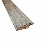 Prefinished Bistro Barn Oak Hardwood 7/16 in thick x 1.5 in wide x 78 in Length Overlap Reducer