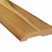 Rocky Hill Hickory Vinyl 3.25 in wide x 7.5 ft Length Baseboard