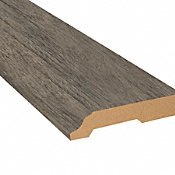 Pacific Coast Oak Vinyl 3.25 in wide x 7.5 ft Length Baseboard