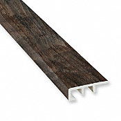 Caribbean Maple Vinyl Waterproof 1.5 in wide x 7.5 ft Length End Cap