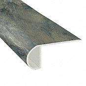 Sierra Blue Slate Vinyl Waterproof 2.25 in wide x 7.5 ft Length Low Profile Stair Nose