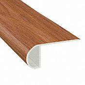 Rainier Cherry Vinyl Waterproof 2.25 in wide x 7.5 ft Length Low Profile Stair Nose