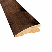 Prefinished Distressed Hunters Creek Hickory Hardwood 3/4 in thick x 2.25 in wide x 78 in Length Reducer