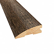 Prefinished Distressed Bristol Tavern Hickory Hardwood 3/4 in thick x 2.25 in wide x 78 in Length Reducer