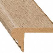 Hannigan Oak Laminate 2.3 in wide x 7.5 ft Length Flush Stair Nose