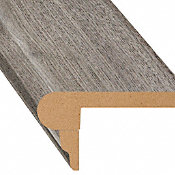 Stockholm Silver Oak Laminate 2.3 in wide x 7.5 ft Length Flush Stair Nose