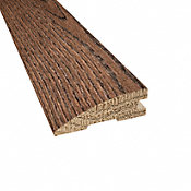 Prefinished Distressed Haverhill Oak Hardwood 3/4 in thick x 2.25 in wide x 78 in Length Reducer