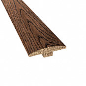 Prefinished Distressed Haverhill Oak Hardwood 1/4 in thick x 2 in wide x 78 in Length T-Molding
