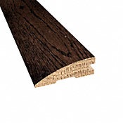Prefinished Distressed Scarborough Oak Hardwood 3/4 in thick x 2.25 in wide x 78 in Length Reducer