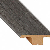 Foggy Bottom Oak Laminate Waterproof 1.75 in wide x 7.5 ft Length Low Profile T-Molding