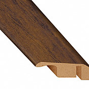 Commonwealth Rustic Hickory Laminate Waterproof 1.56 in wide x 7.5 ft Length Low Profile Reducer