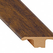 Commonwealth Rustic Hickory Laminate Waterproof 1.75 in wide x 7.5 ft Length Low Profile T-Molding