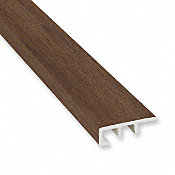 Tacoma Oak Laminate Waterproof 1.374 in wide x 7.5 ft Length Low Profile End Cap