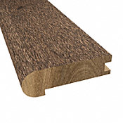 Prefinished Distressed Hardwood Bettencourt 3/4 in thick x 3.125 in wide x 78 in Length Stair Nose