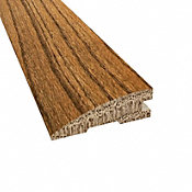 Prefinished Distressed Westport Oak Hardwood 3/4 in thick x 2.25 in wide x 78 in Length Reducer