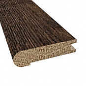 Prefinished Distressed Exeter Oak Hardwood 3/4 in thick x 3.125 in wide x 78 in Length Stair Nose