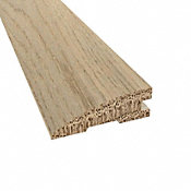 Prefinished Distressed Fairhaven Oak Hardwood 3/4 in thick x 2.25 in wide x 78 in Length Reducer
