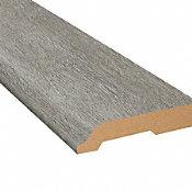 Citadel Gray Oak Vinyl 3.25 in wide x 7.5 ft Length Baseboard