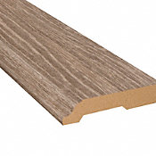 Strasbourg Oak Vinyl 3.25 in wide x 7.5 ft Length Baseboard