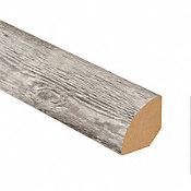 Mont-Blanc Pine Vinyl 1.075 in wide x 7.5 ft Length Quarter Round