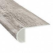 Mont-Blanc Pine Vinyl Waterproof 2.25 in wide x 7.5 ft Length Low Profile Stair Nose