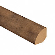 Copper Ridge Oak Vinyl 1.075 in wide x 7.5 ft Length Quarter Round