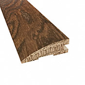 Prefinished Distressed Stratford Oak Hardwood 3/4 in thick x 2.25 in wide x 78 in Length Reducer