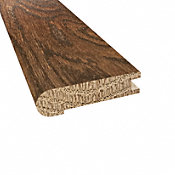 Prefinished Distressed Stratford Oak Hardwood 3/4 in thick x 3.125 in wide x 78 in Length Stair Nose