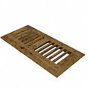 "TRQ Copper Ridge Oak 4x10"" DI Grill"
