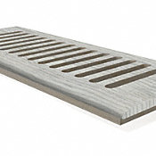 """DH Frosted Pine 4x10"""" DI Grill"""