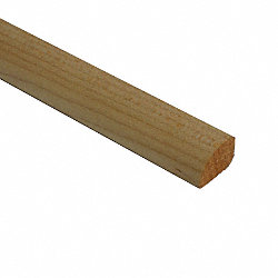 1/2 X 3/4 X 78 Maple Shoe Molding