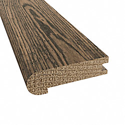 3/4 x 3-1/8 x 78 Squire Hill Oak Stair Nose