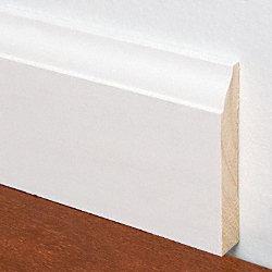 9 16 X 3 1 4 12 Pfj White Colonial Baseboard
