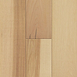 7mm x 7-1/2 w/pad Natural Hickory Engineered Hardwood Flooring