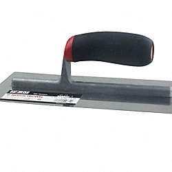 1/16 x 1/32 x 1/32 U-Notch Trowel
