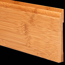 1/2 x 3-1/4 6LFT Carbonized Bamboo Baseboard