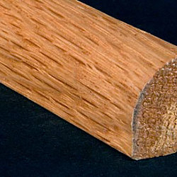 1/2 x 3/4 x 6.5 LFT Red Oak Shoe Molding