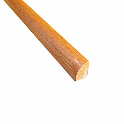 1/2 x 3/4 x 78 Butterscotch Oak Shoe Molding