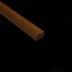 1/2 x 3/4 x 78 Sugar Mill Hickory Shoe Molding