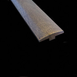1/4 x 2 x 78 Pewter Gray Maple T-Molding
