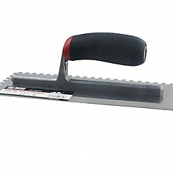 1/4 x 3/8 x 1/4 Square-Notch Trowel