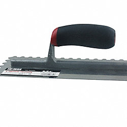 3/16 x 1/4 x 1/2 V-Notch Trowel