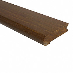 3/4 x 3-1/8 x 78 Brazilian Walnut Stair Nose
