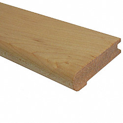 3/4 x 3-1/8 x 78 Maple Stair Nose