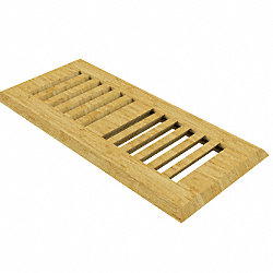 4 x 10 Natural Strand Drop In Grill